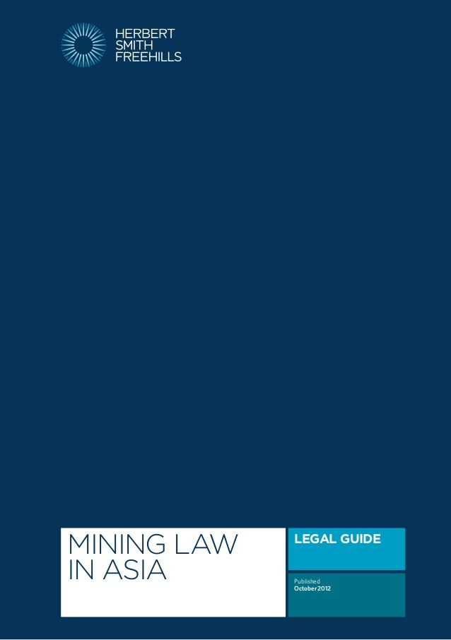 Mining Law in Asia