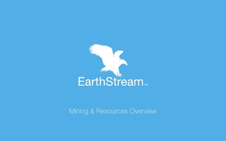 Mining & Resources Overview