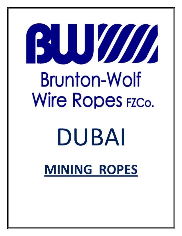 Mining rope sling