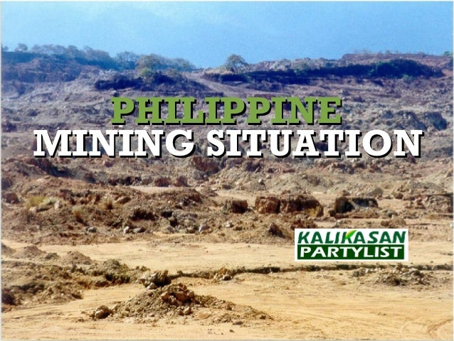 Mining Situation in the Philippines
