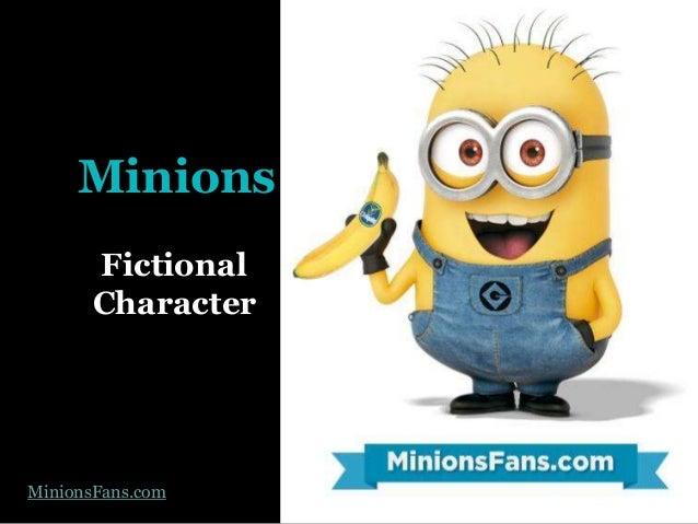 Minions Fictional Character MinionsFans.com