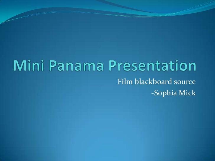Film blackboard source          -Sophia Mick