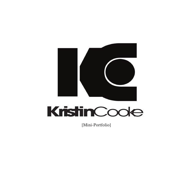 KristinCook           e     [Mini-Portfolio]