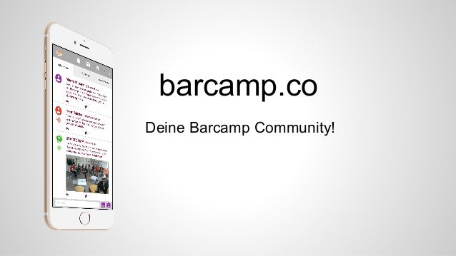 barcamp.co Deine Barcamp Community!