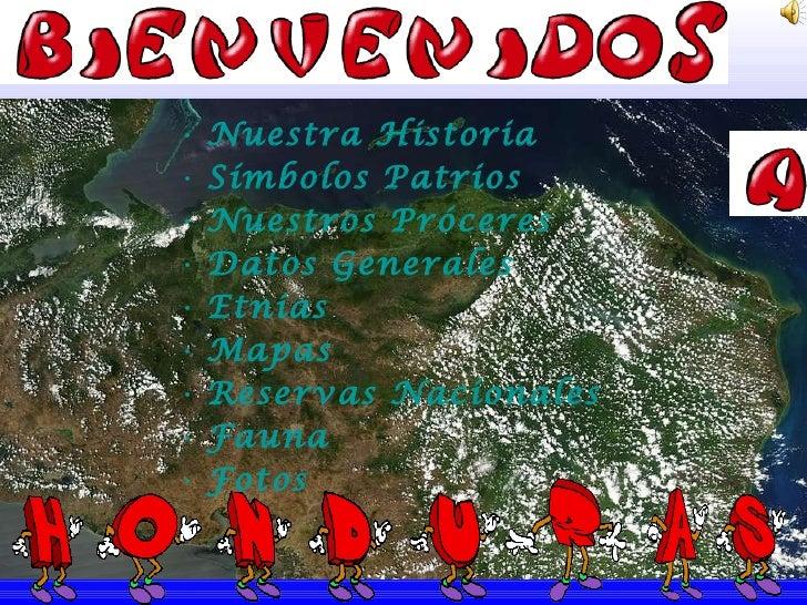 <ul><li>Nuestra Historia </li></ul><ul><li>Símbolos Patrios </li></ul><ul><li>Nuestros Próceres </li></ul><ul><li>Datos Ge...