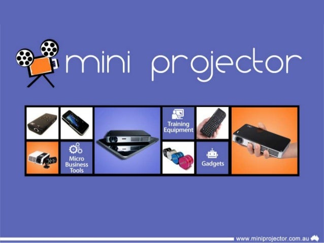 Mini LED Data Projectors