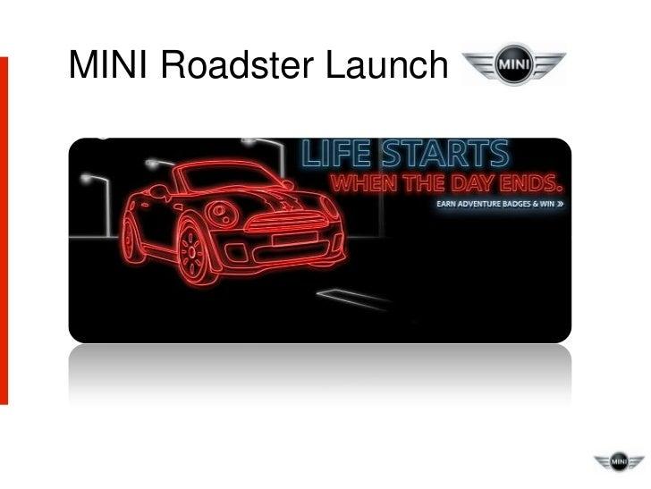 MINI Roadster Launch