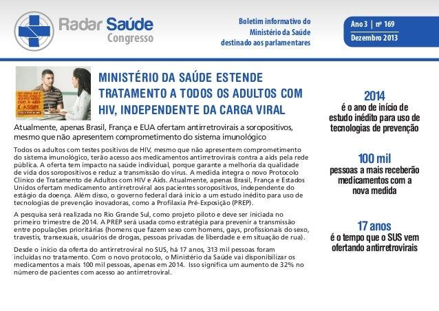 Radar Saúde  Congresso  Boletim informativo do Ministério da Saúde destinado aos parlamentares  Ministério da Saúde estend...