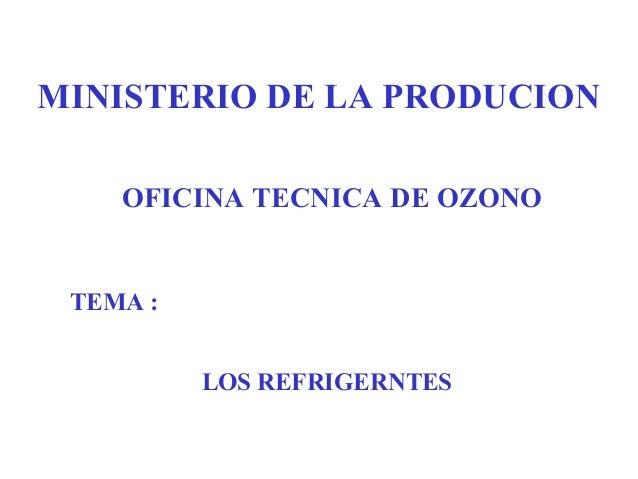 Ministerio de la produccion for Ministerio produccion