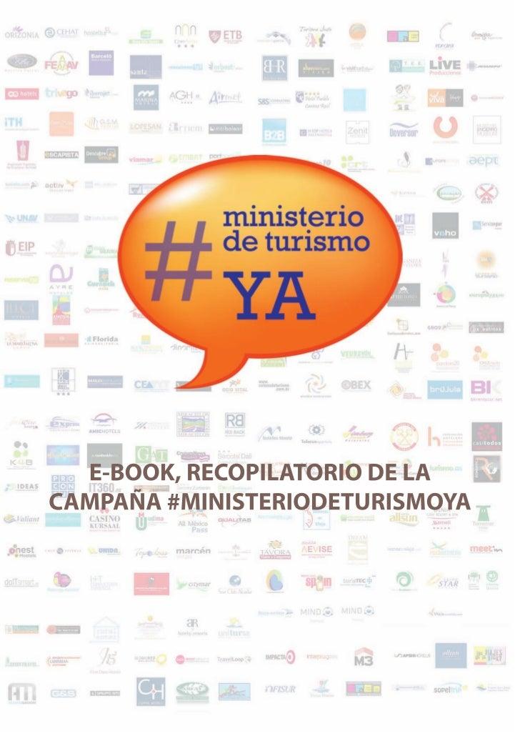 e-book Ministerio de Turismo ya