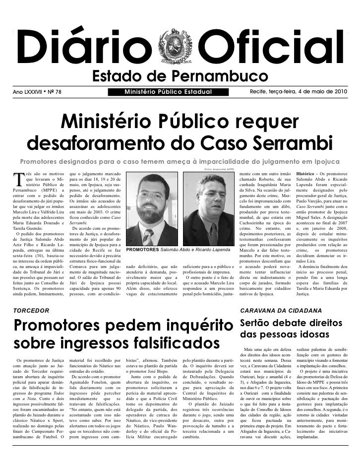 Ministerio Publico   04 05 2010