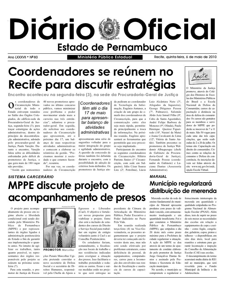 Ministerio Publico   06 05 2010