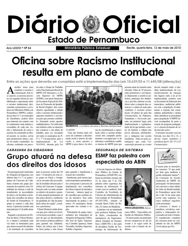 Ministerio Publico   12 05 2010