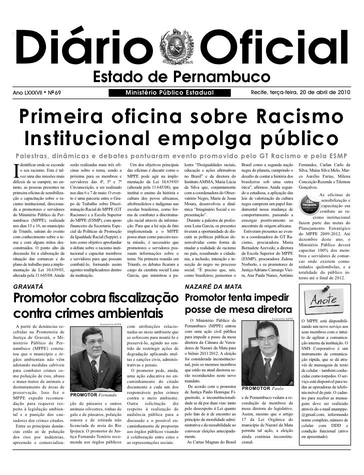 Ministerio Publico 20 04 2010