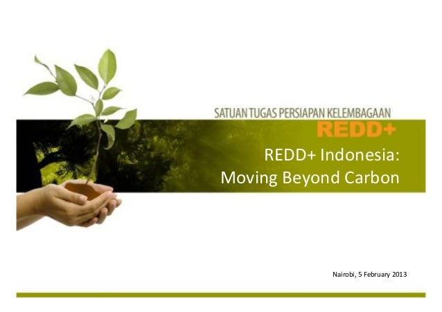 REDD+%Indonesia:%%Moving%Beyond%Carbon%                                    %                                    %         ...