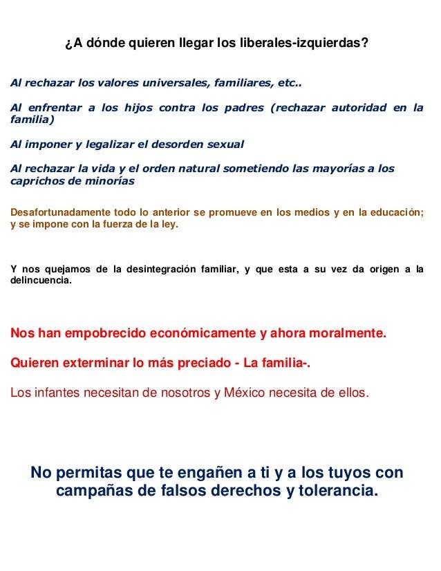 Ministros de Justicia en México traicionan a la familia.