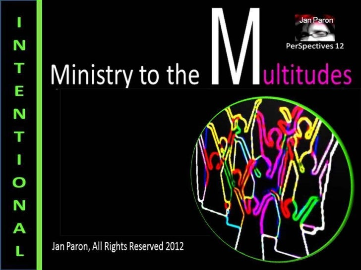 M.O.S.A.I.C. Church Series, Pt 2: Intentional Ministry (PerSpectives 12)