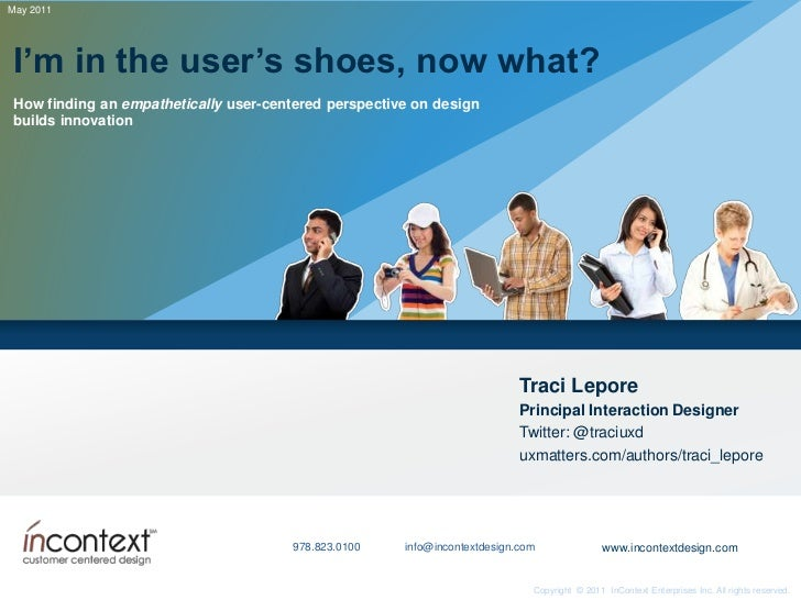 I'm in the user's shoes, now what?<br />How finding an empathetically user-centered perspective on design builds innovatio...