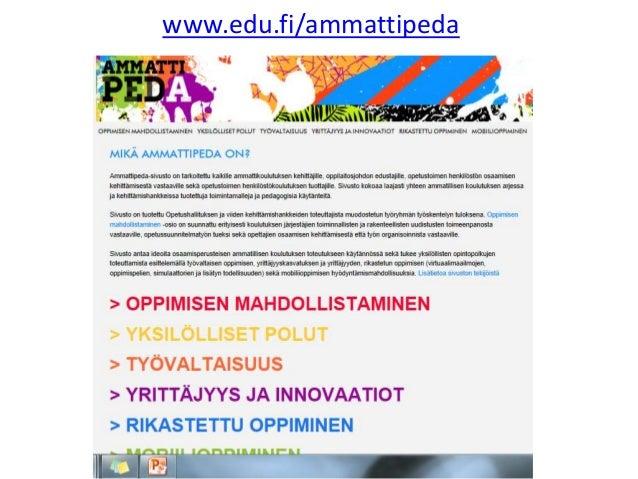 www.edu.fi/ammattipeda