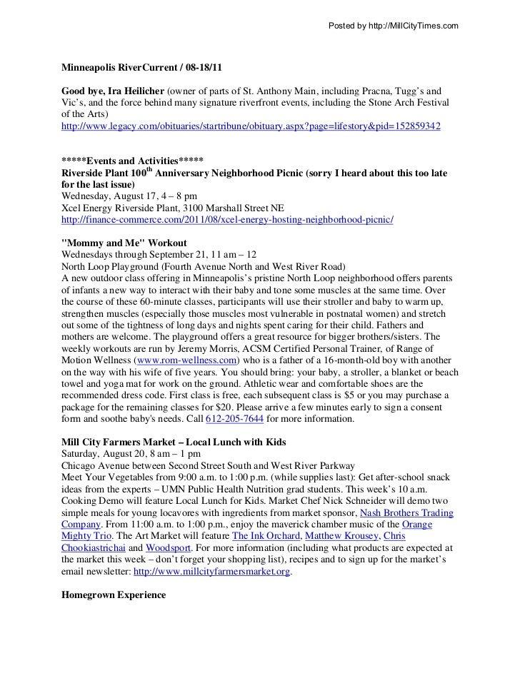 Minneapolis RiverCurrent 08-18-11