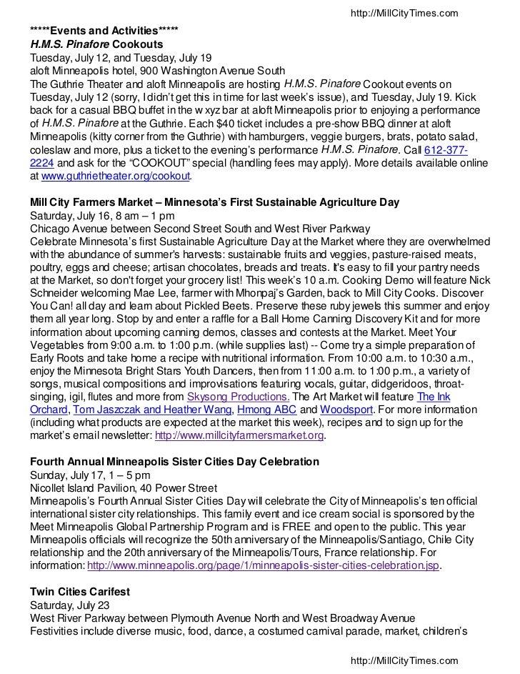 Minneapolis RiverCurrent 7-18-2011 - Mill City Times