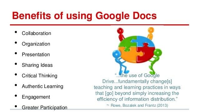 minnetesol 2013 presentation facilitate collaboration With google documents benefits