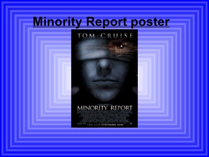 Minority Report Poster Ppt