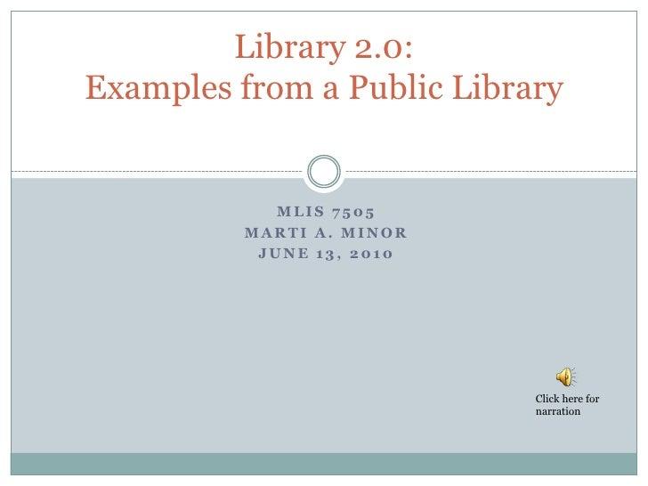 Minor marti final project presentation