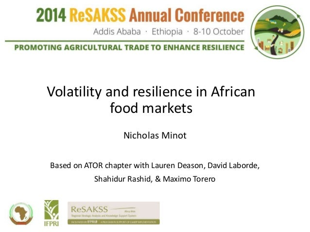 price volatility g20 policy response Food price volatility and fns  2 yield response to price change, and  sound global grain reserves policy needed.