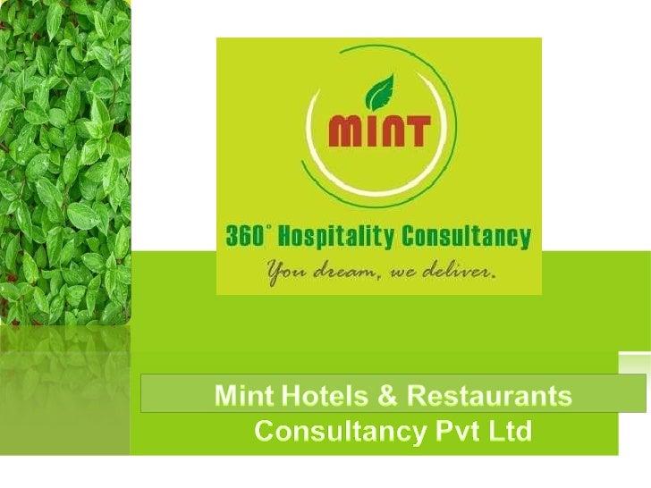 Mint Hotels & Restaurants Consultancy Pvt Ltd