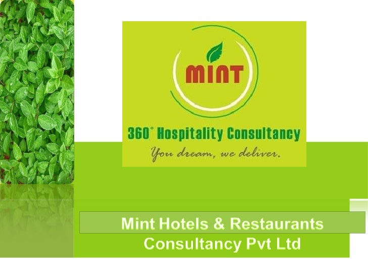 Mint Hotels & Restaurants Consultancy Pvt Ltd
