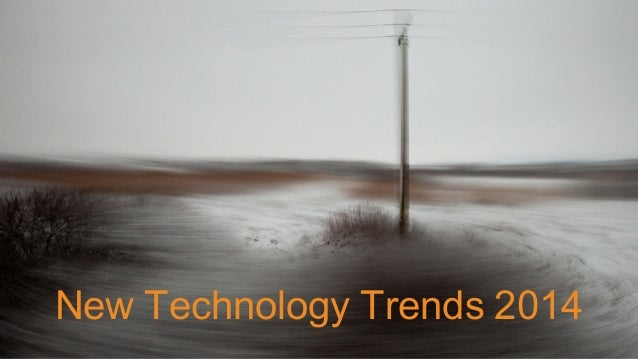 New tech trends - How new tech is impacting society around the world
