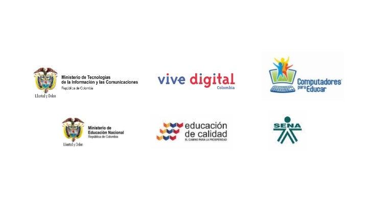 Presentación del Ministro TIC Educa Digital