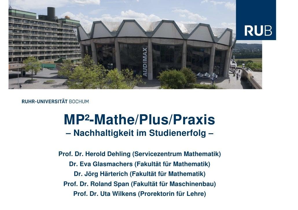 Mint Ruhr Uni  Bochum