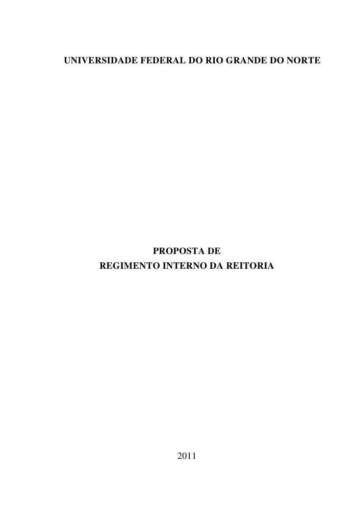 Minuta de regimento da reitoria        reunião de 24.10.2011.