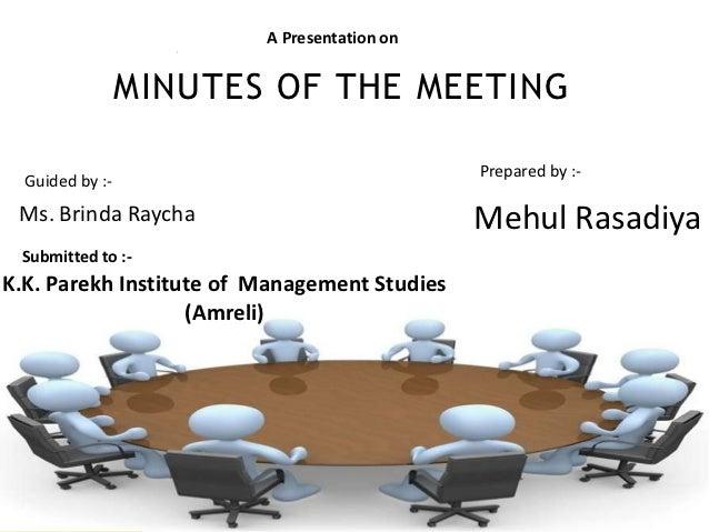sample agenda for meeting