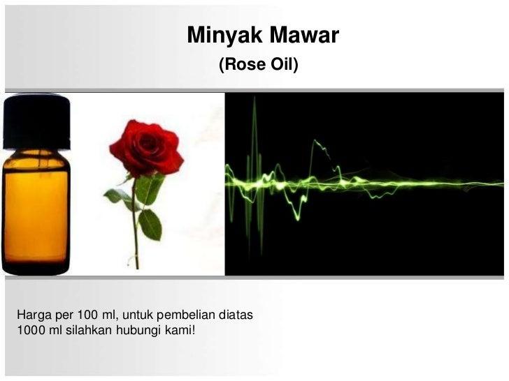 Minyak mawar