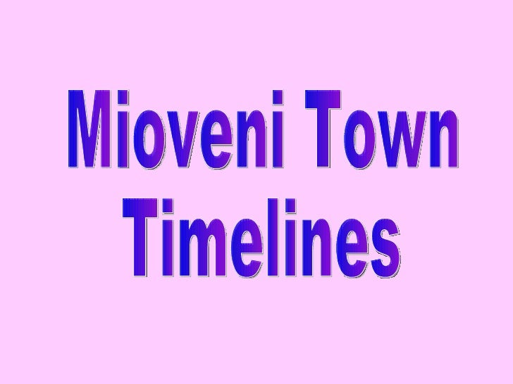 Mioveni Town Timelines