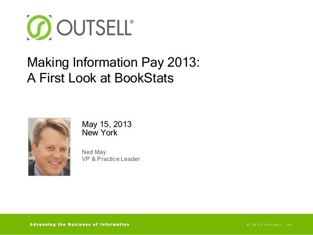 MIP 2013 -- BookStats First Look -- Ned May