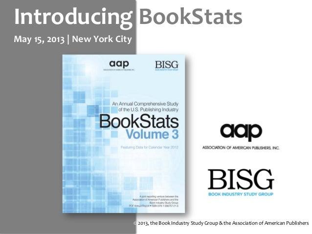 MIP 2013 -- Introducing BookStats