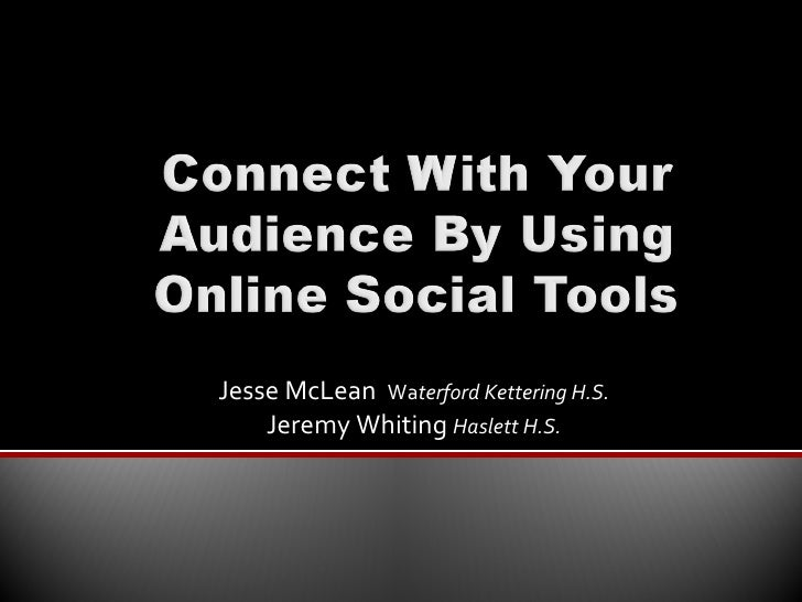 MIPA Fall Conf. - Connecting w/ your Audience