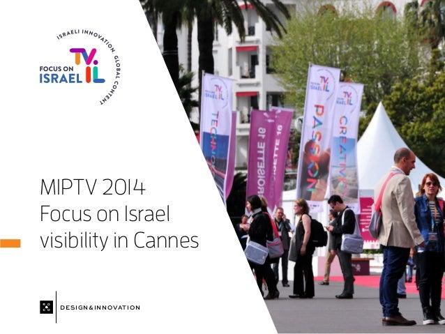 Israel at MIPTV 2014