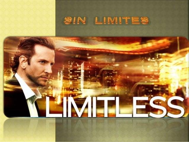  Sin Límites una película de ficción protagonizada por Bradley Cooper quien hace el personaje de Edwar Morra un aspirante...