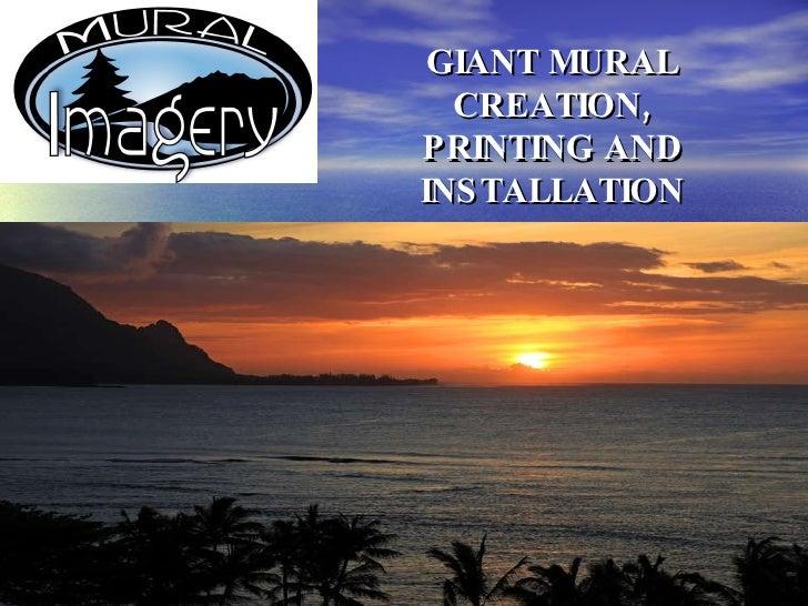 Mural Imagery Presentation