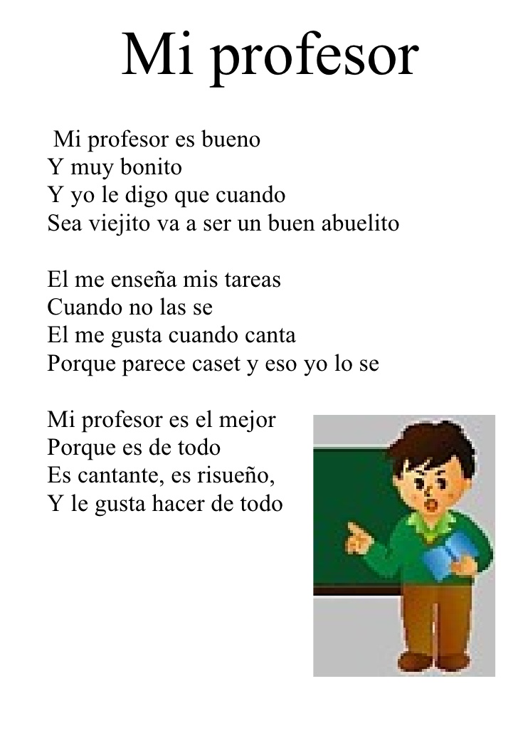 Poema Para MI Maestra