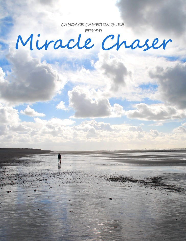 """The Miracle Chaser                               An Episodic TV Show By: Mark Brown - 3/19/10LOGLINE""""X Files"""" meets """"Touch..."""