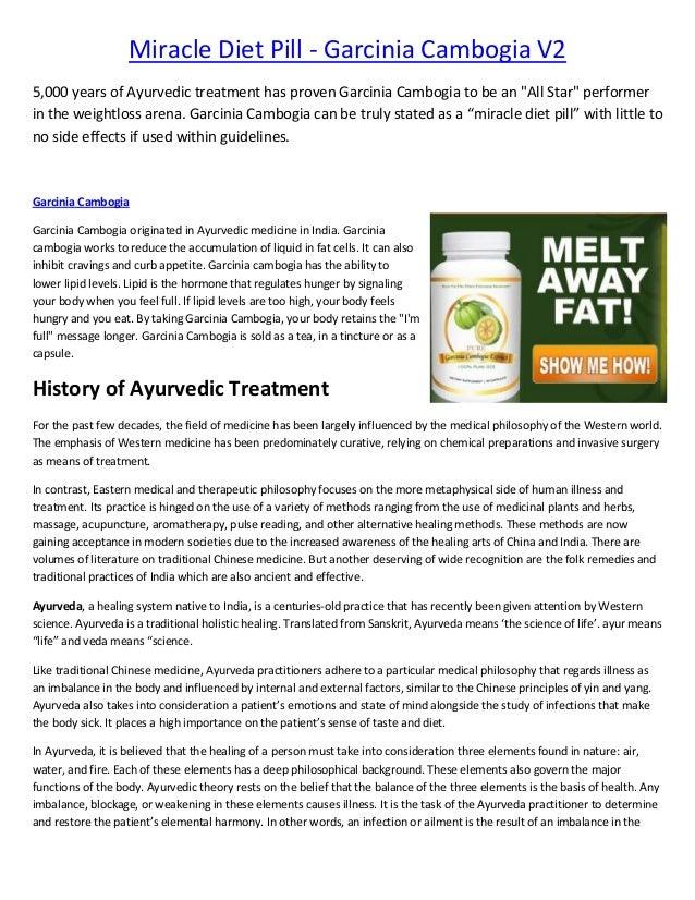 Miracle diet pill   garcinia cambogia select - e book short