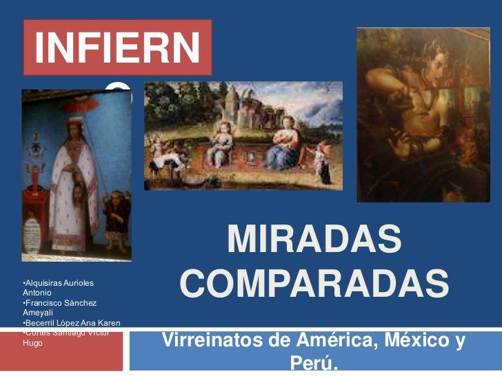 INFIERN     O                               MIRADAS•Alquisiras AuriolesAntonio•Francisco SánchezAmeyali                   ...
