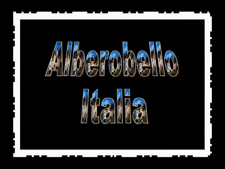 (Mir)Alberobello  Italia