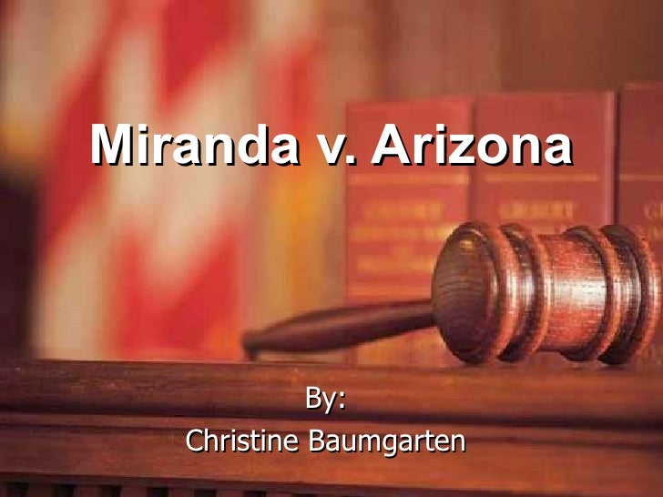 Miranda Rights Political Cartoon